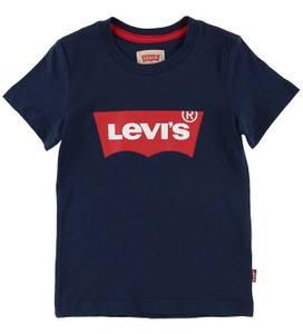 Bilde av Levis, t-skjorte navy m/rød