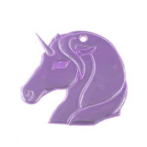 Bilde av Tinka, refleks lilla unicorn